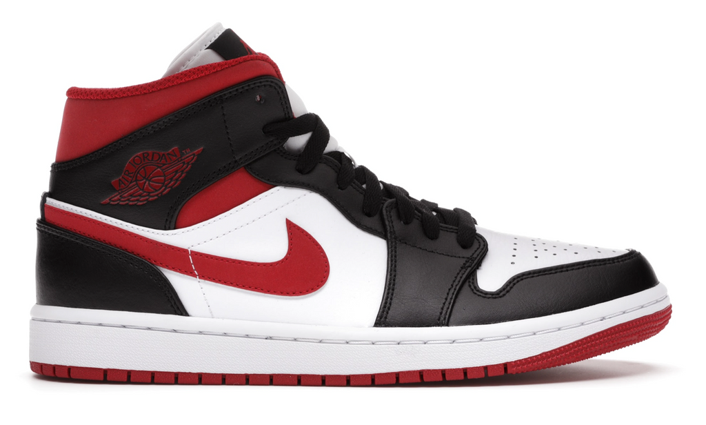 "Air Jordan 1 Retro Mid ""Gym Red Black White"""