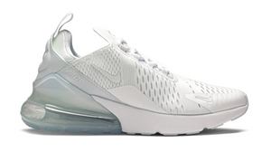 "Nike Air Max 270 (GS) ""White Silver"""