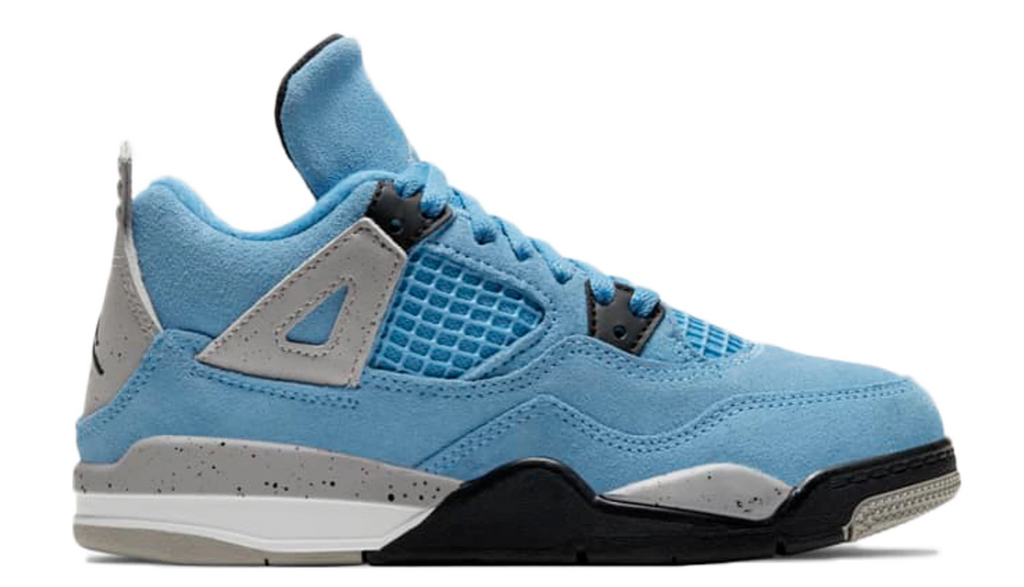 "Air Jordan 4 Retro (PS) ""University Blue"""