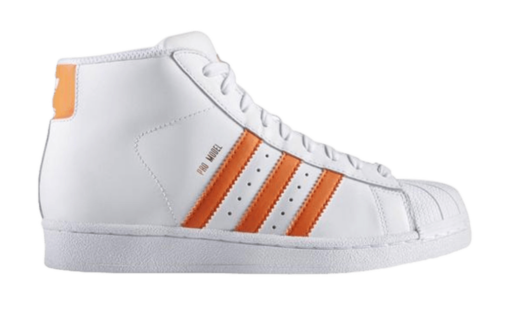 "Adidas Pro Model J (GS) ""White Orange"""