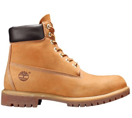 "Timberland 6 In PREM "" Tan Construction"""