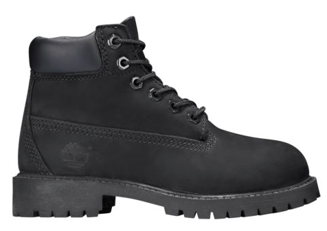 "Timberland 6 In PREM (GS) ""Black Construction"""