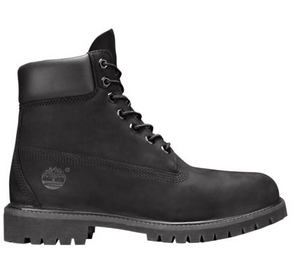 "Timberland 6 In Prem Boot ""Black Construction"" - FCSSNEAKERS.COM"