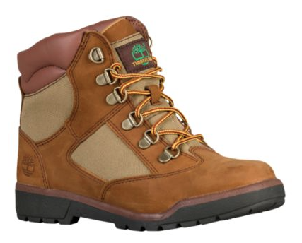 "Timberland 6In L/F Field Boot (PS) ""Sesame Chicken High"""