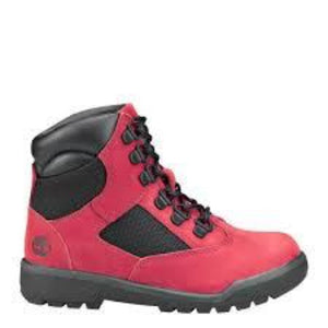 "Timberland 6In F/L Field Boot (TD) ""Red Black"""