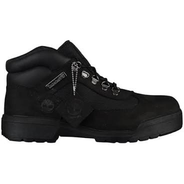 "Timberland Field Boot WP L/F Mid ""Black Black"""