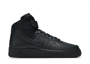 "Nike Air Force 1 High '07 ""Black Black"""
