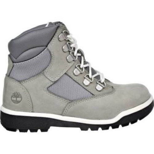 "Timberland 6In F/L Field Boot (PS) ""Grey White"""