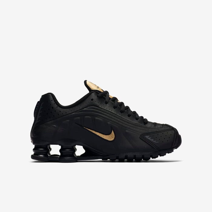 "Nike Shox R4  (GS) ""Black Gold"""