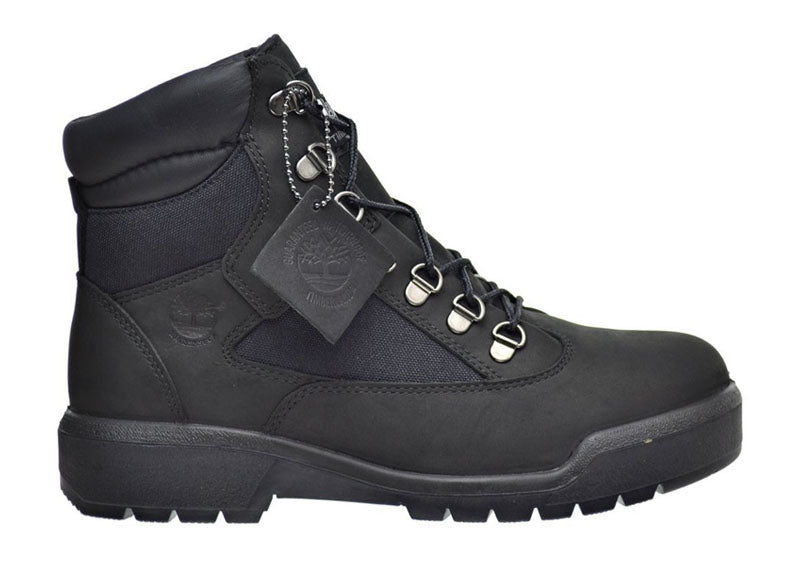 "Timberland 6In F/L Field Boot (GS) ""Black Black"""