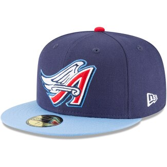 "New Era L.A. Anaheim Angels Fitted ""Navy White Red"" $38.99"