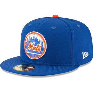 "New Era New York Mets Fitted ""Royal Orange"" $38.99"