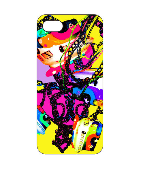 Psychedelic Bus Chains Phone Case