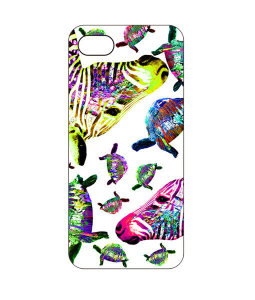 Turtle Puking Zebra Phone Case