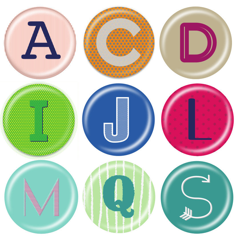 Initials - Kristie Collection - ChattySnaps