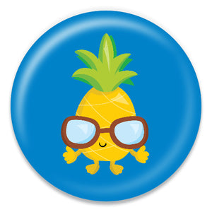 Pineapple with Glasses - ChattySnaps