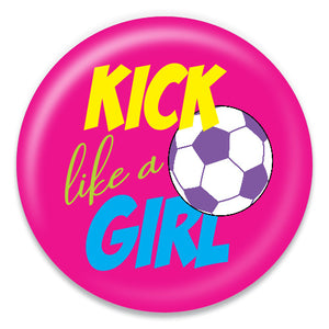 Kick Like a Girl - ChattySnaps
