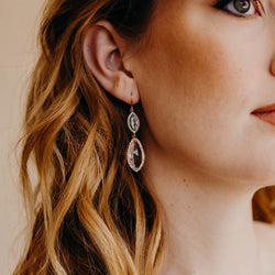 REIGN Drop Earrings, Earrings, - Wander + Lust Jewelry