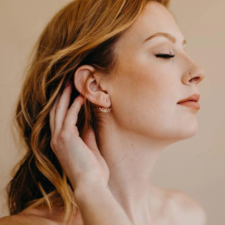 ELOISE Ear Jackets, Earrings, - Wander + Lust Jewelry