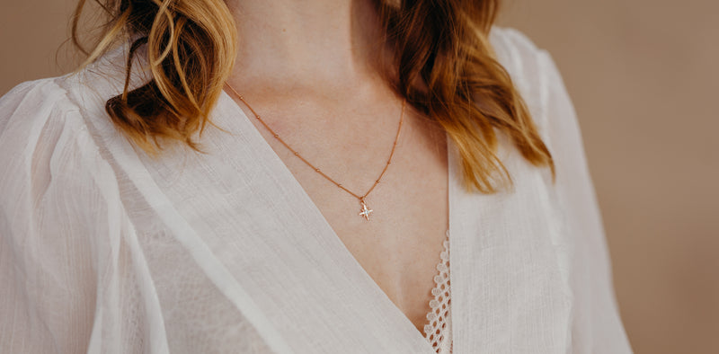 Star Satellite Necklace, Necklace, - Wander + Lust Jewelry
