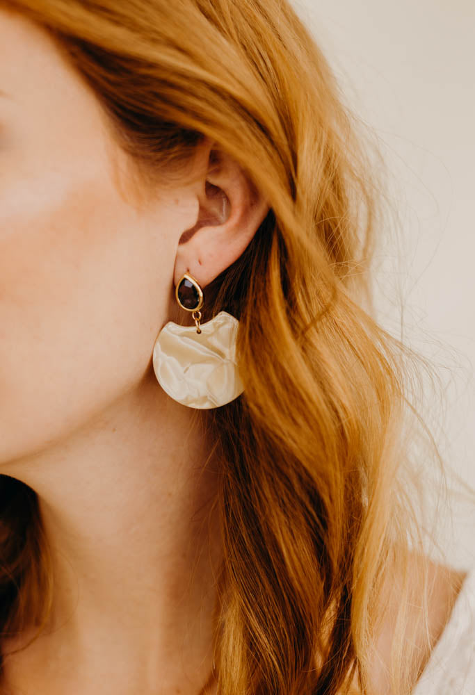Madrid Statement Earrings, Earrings, - Wander + Lust Jewelry