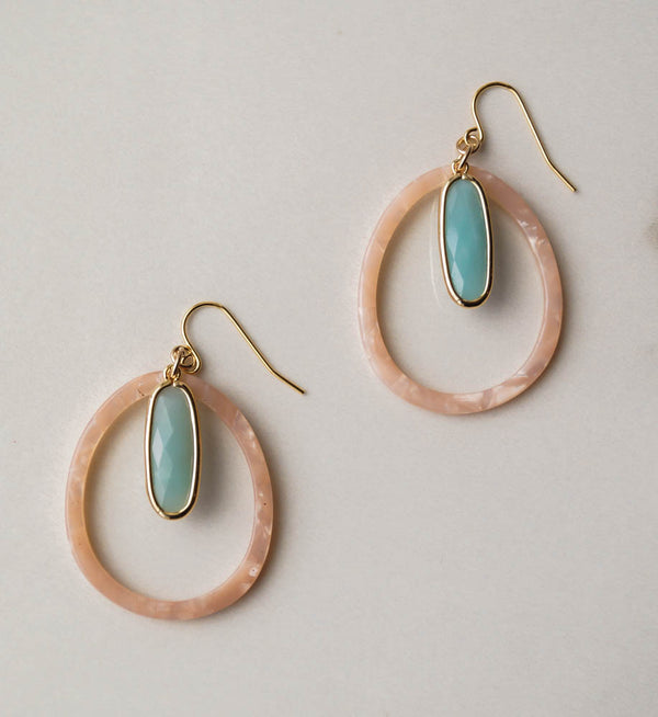 Santorini Hoops, Earrings, - Wander + Lust Jewelry