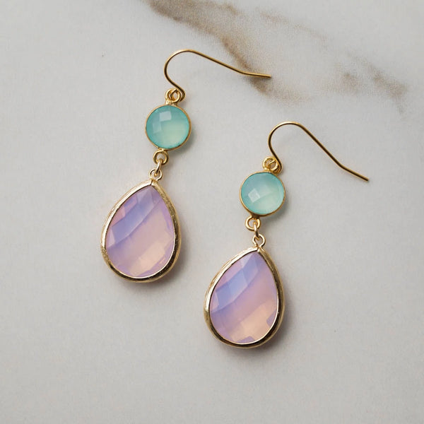Bali Sunset Drop Earrings, Earrings, - Wander + Lust Jewelry