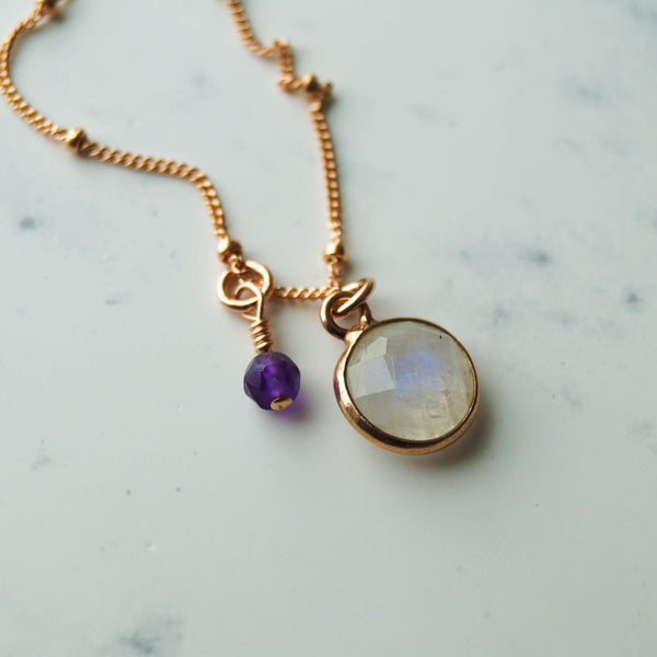 Add a Gemstone to Your Necklace or Bracelet, Necklace, - Wander + Lust Jewelry