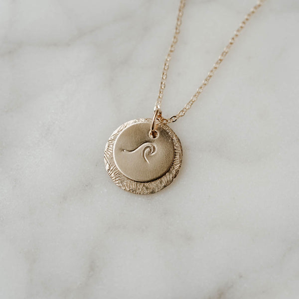 Sun and Sea Necklace, Necklace, - Wander + Lust Jewelry