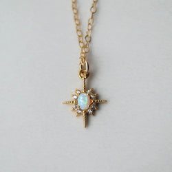 Keira Star Necklace, Necklace, - Wander + Lust Jewelry