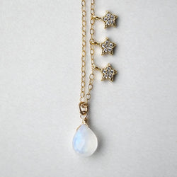 Selene Galaxy Necklace, Necklace, - Wander + Lust Jewelry