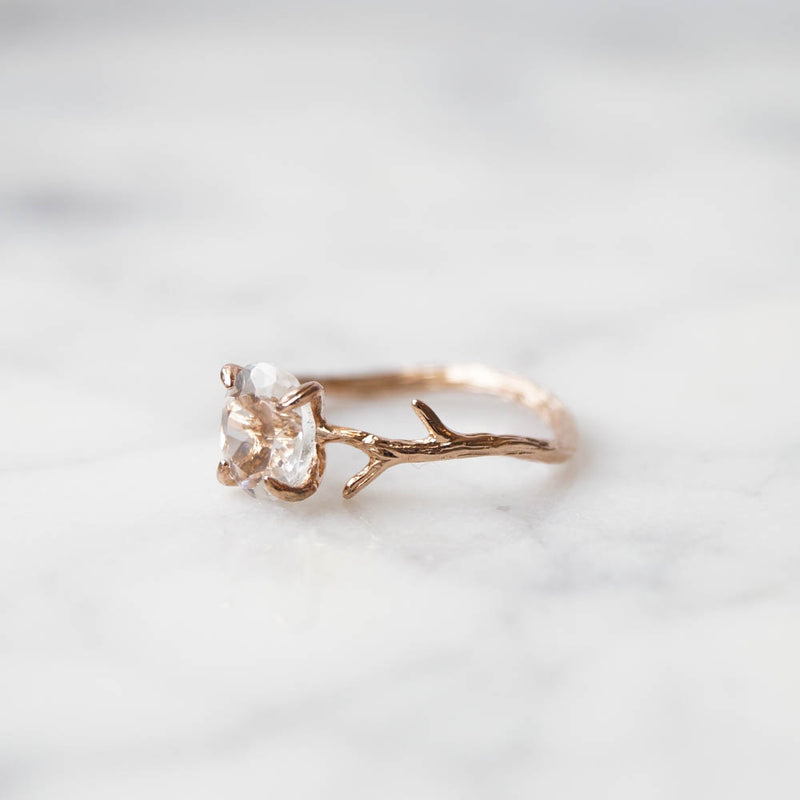 Crystal Quartz Ring, Ring, - Wander + Lust Jewelry
