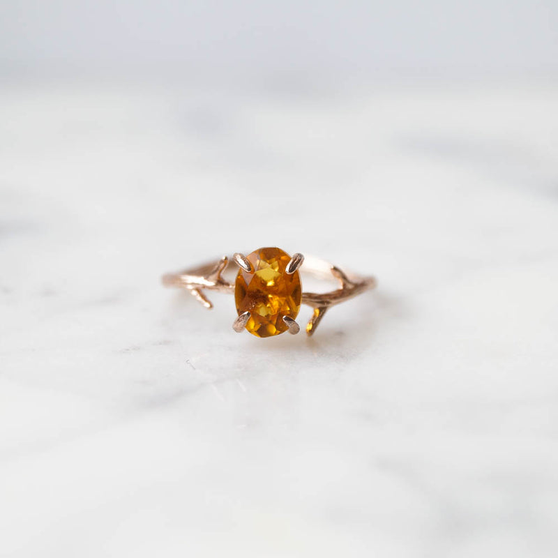 Citrine Ring, Ring, - Wander + Lust Jewelry