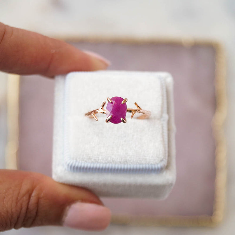 Ruby Ring, Ring, - Wander + Lust Jewelry