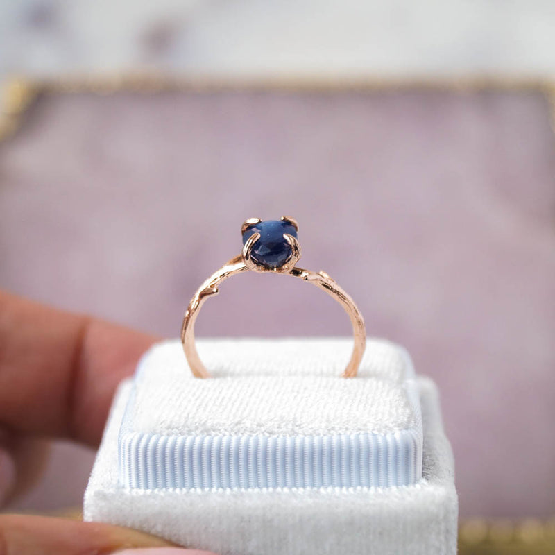 Sapphire Ring, Ring, - Wander + Lust Jewelry