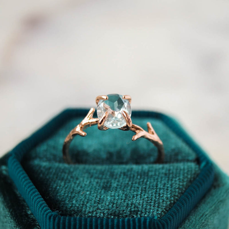 Aquamarine Ring, Ring, - Wander + Lust Jewelry