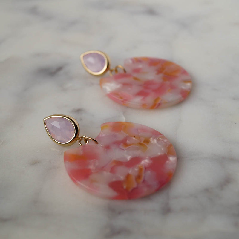 Barbados Statement Earrings, Earrings, - Wander + Lust Jewelry