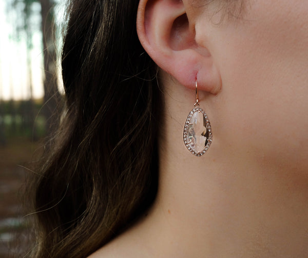 The Ava Drop Earrings, Earrings, - Wander + Lust Jewelry