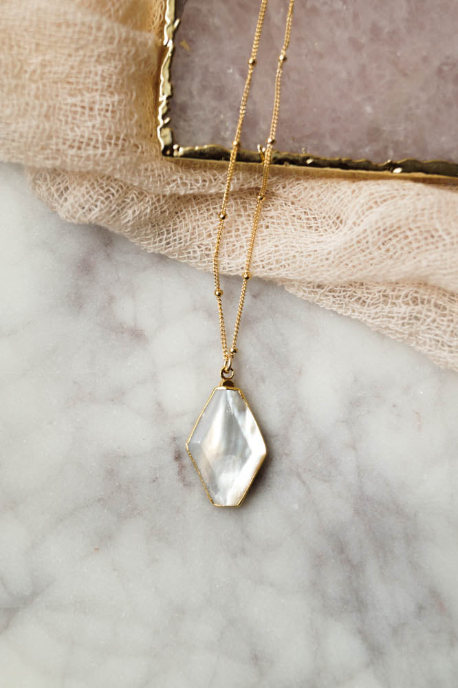 Adelle Necklace, Necklace, - Wander + Lust Jewelry