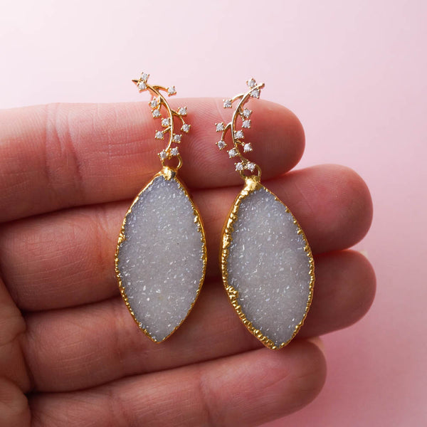 Moondust Earrings, Earrings, - Wander + Lust Jewelry
