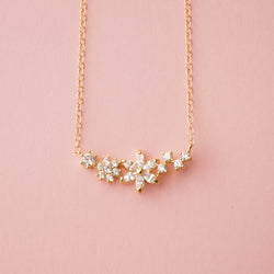 Blooms Necklace, Necklace, - Wander + Lust Jewelry