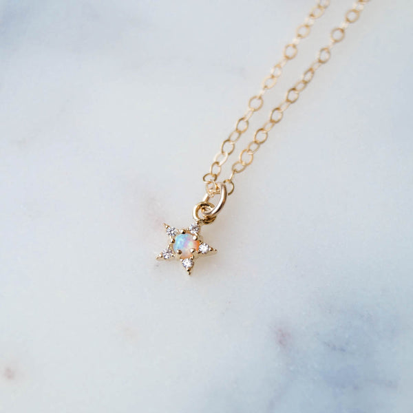Cece Star Necklace, Necklace, - Wander + Lust Jewelry