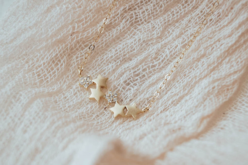 Stardust Necklace, Necklace, - Wander + Lust Jewelry