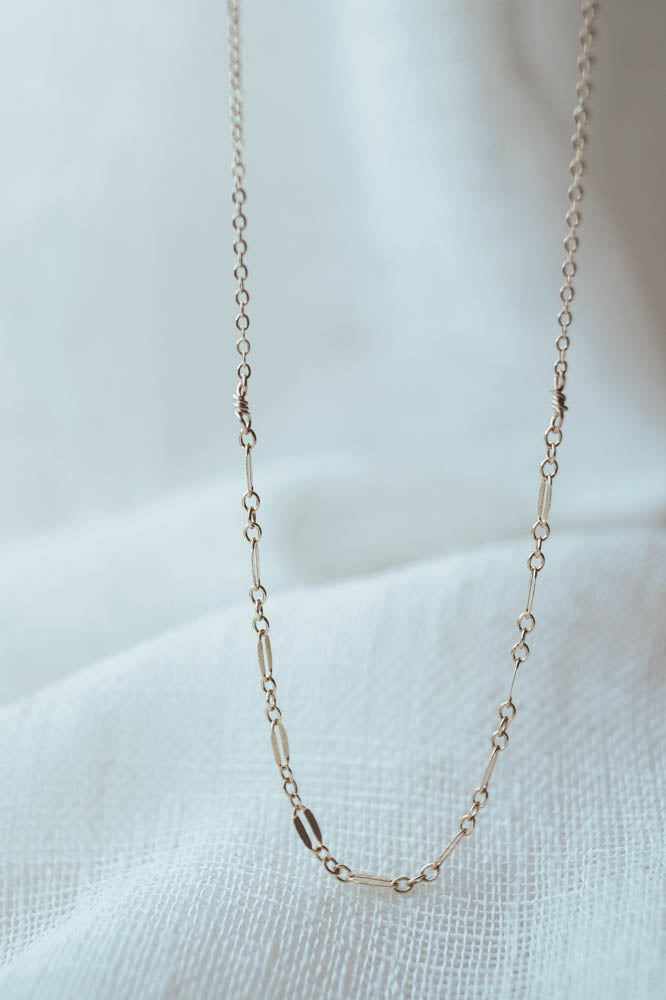 Chain Two Ways Necklace, Necklace, - Wander + Lust Jewelry