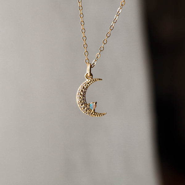 Moon Magic Necklace, Necklace, - Wander + Lust Jewelry