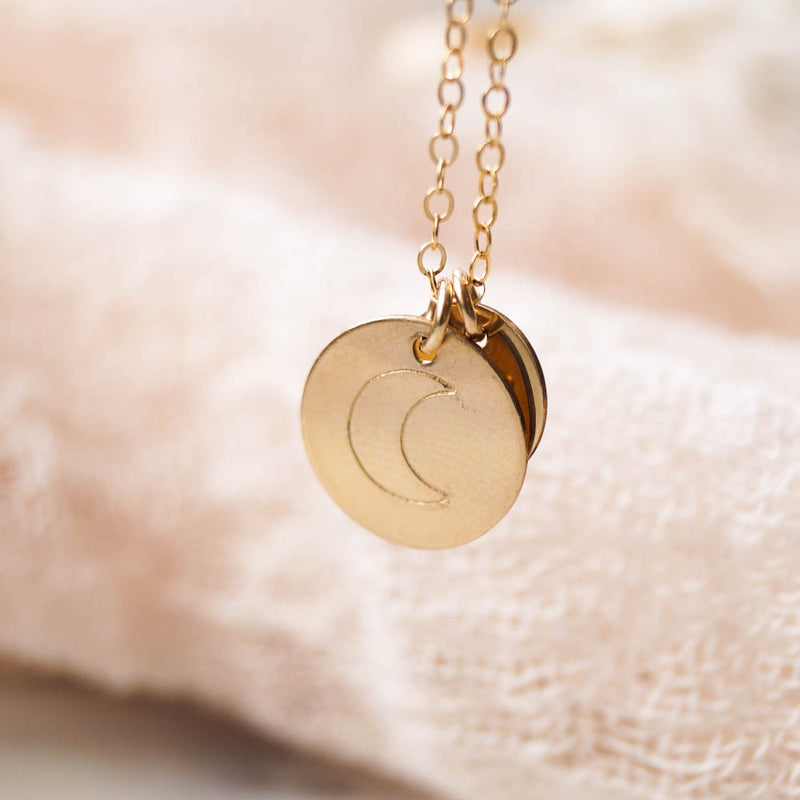 You're My Moon Necklace
