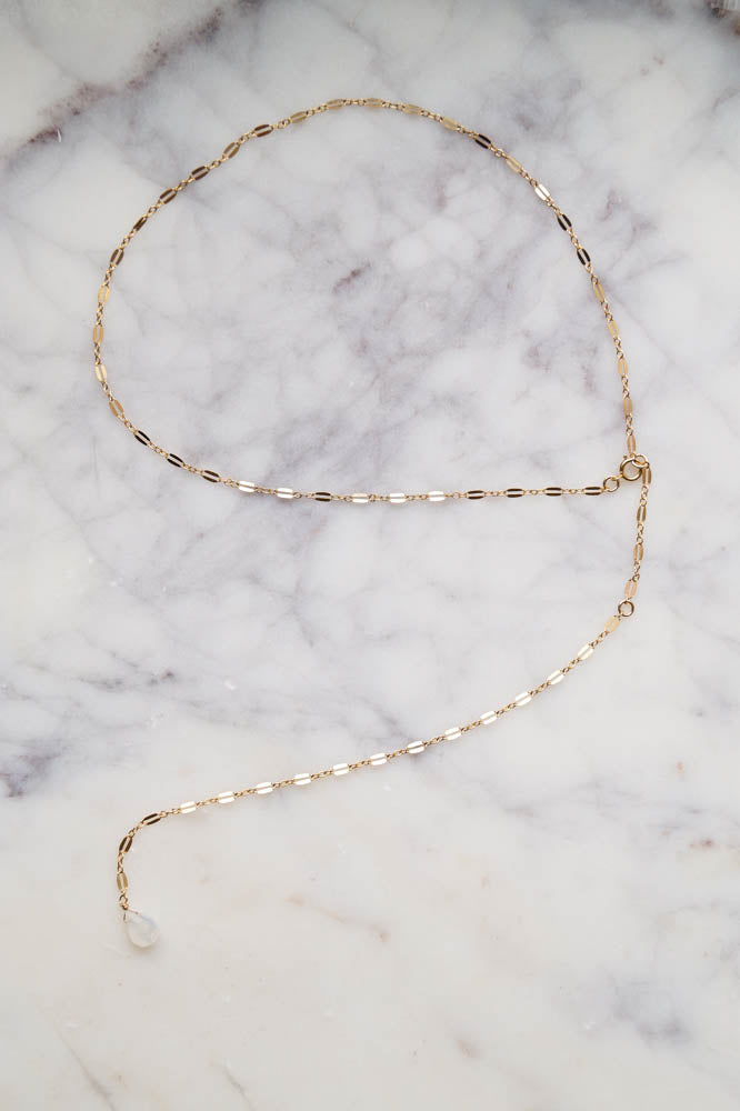 NEOMA Back Necklace, Necklace, - Wander + Lust Jewelry