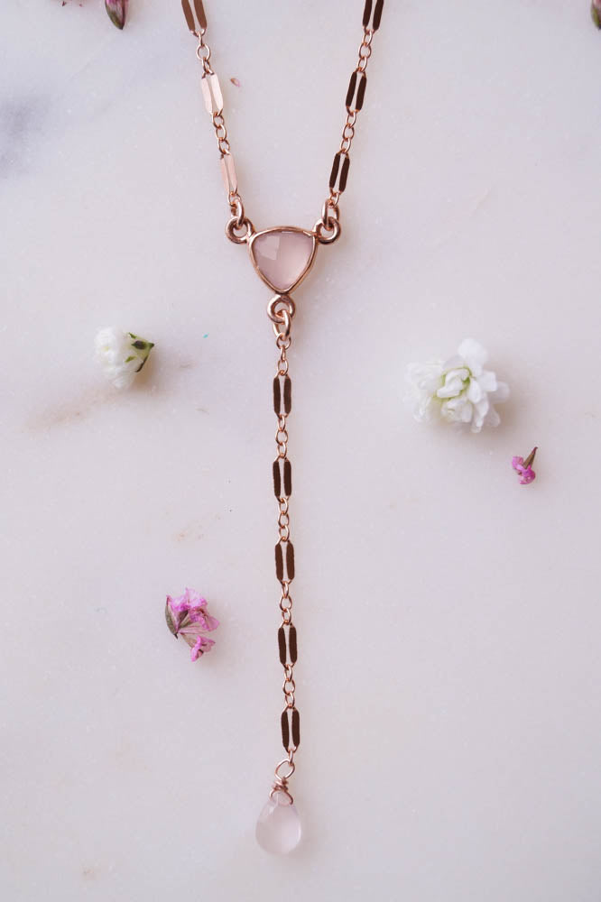 Rosalie Y Necklace, Necklace, - Wander + Lust Jewelry