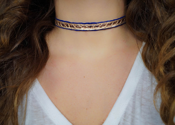 The Sari Choker, Necklace, - Wander + Lust Jewelry