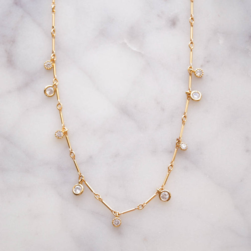 Amavi Choker Necklace, Necklace, - Wander + Lust Jewelry